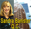 Sandra Banister QC Queens Counsel has over 30 years experience  with  Personal injury and ICBC  claims disputes