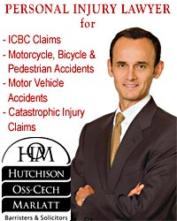 Lorenzo Oss-Cech, BSC LLB experienced  ICBC claims disputes lawyer for personal injury  clients in Victoria